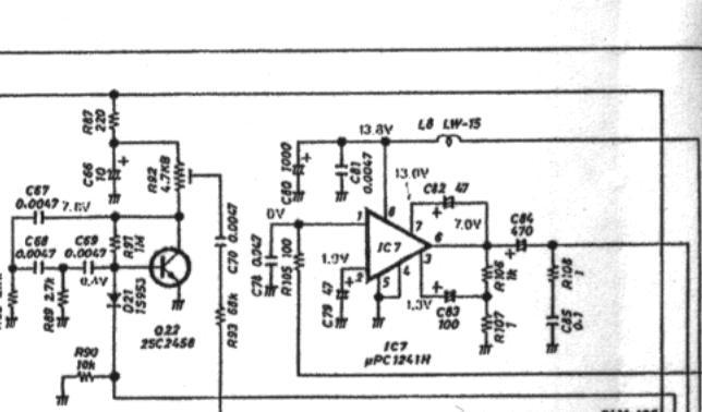 ICOM IC765 : Présence de BF / Tonalité en émission 04-pa-bf-main-haut-gauche