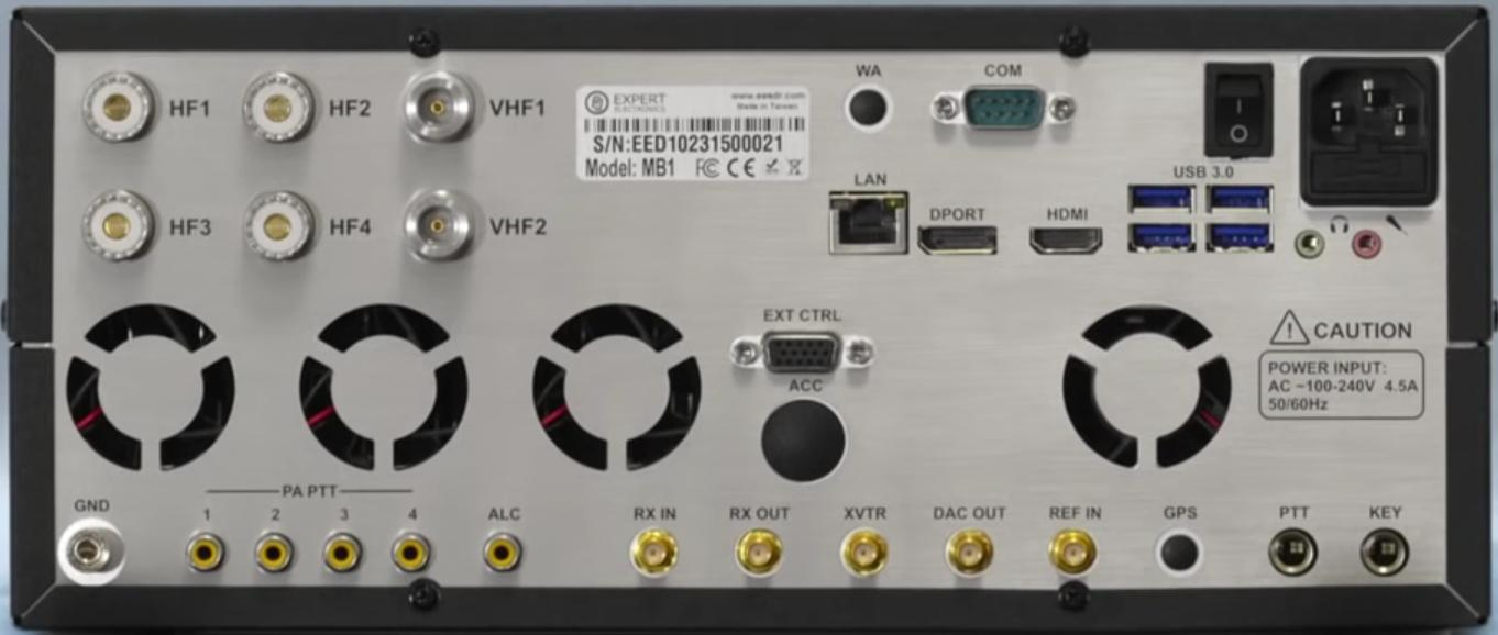 Expert Electronics / SunSDR MB1 HF-VHF : Avis Face-ar