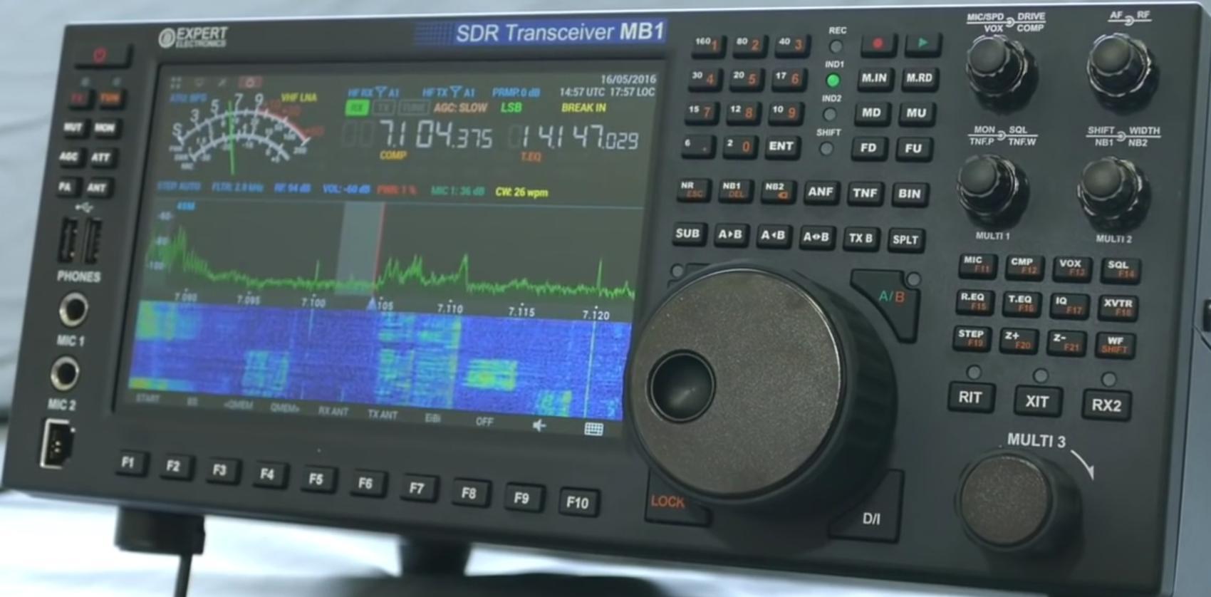 Expert Electronics / SunSDR MB1 HF-VHF : Avis Face-av