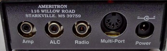FT 2000 : Connexion AMPLI AMERITRON avec interface Ameritron ARB-704 Face-ar-ARB704