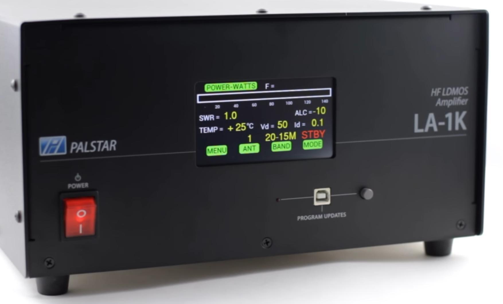 Palstar Amplificateur HF à transistors LA-1K Face-avant